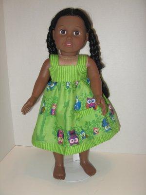 Whimsical sundress for American Girl doll