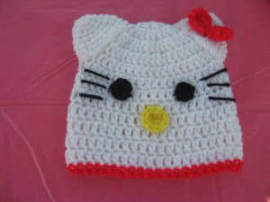 Hello kitty hat for kids