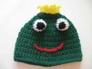 frog prince hat for kids