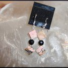 Rhodonite Earring