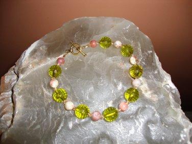 Pink Lepidolite Bracelet