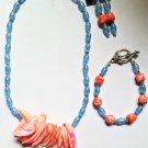 Summer Set Necklace, Earrings, Bracelet