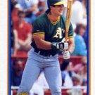 1991 Bowman 372 Jose Canseco SLUG