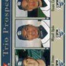 2004 Fleer Tradition #494 Greene/Ojeda/Castro SP