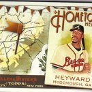 2011 Topps Allen and Ginter Hometown Heroes #HH11 Jason Heyward
