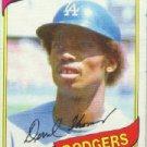 1980 Topps #23 Derrel Thomas