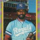 1985 Fleer #218 Willie Wilson
