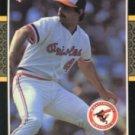 1987 Donruss #459 Mike Flanagan
