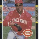 1987 Donruss #492 Barry Larkin RC