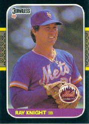 1987 Donruss #586 Ray Knight