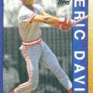 1990 Topps 402 Eric Davis AS