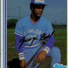 1982 Topps #254 George Bell RC