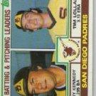 1983 Topps 742 Terry Kennedy/Tim Lollar