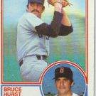 1983 Topps 82 Bruce Hurst