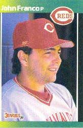 1989 Donruss Baseball's Best #166 John Franco