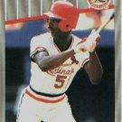 1989 Fleer 457 Willie McGee