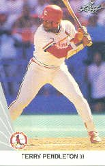 1990 Leaf 260 Terry Pendleton