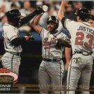 1993 Stadium Club Murphy #182 Lonnie Smith