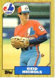 1987 Topps Traded #87T Reid Nichols