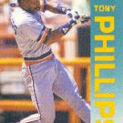 1992 Fleer 143 Tony Phillips