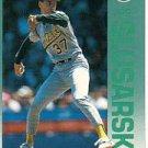 1992 Fleer 266 Joe Slusarski