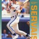1992 Fleer 444 Scott Servais
