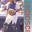 1992 Fleer 470 Mike Scioscia