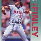 1992 Fleer 57 Chuck Finley
