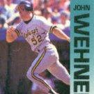 1992 Fleer 573 John Wehner UER