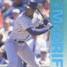 1992 Fleer 614 Fred McGriff
