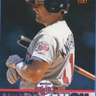 1994 Triple Play #254 Chuck Knoblauch