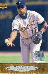 1996 Upper Deck #327 Tony Clark