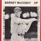 1981 Tigers Detroit News #114 Barney McCosky
