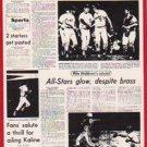 1981 Tigers Detroit News #120 Reggie Jackson's Super/Homer Ignites A.L.