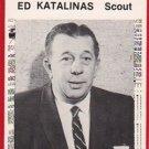 1981 Tigers Detroit News #127 Ed Katalinas Scout