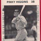 1981 Tigers Detroit News #89 Pinky Higgins