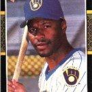 1987 Donruss #295 Mike Felder