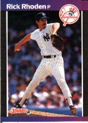 1989 Donruss 429 Rick Rhoden