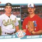 1990 Fleer 646 Scott Hemond/Mark Gardner RC