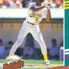 1991 Donruss Bonus Cards #BC22 Willie McGee