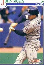 1991 Score #429 John Moses