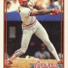 1991 Topps 160 Vince Coleman UER