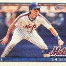 1991 Topps 302 Tim Teufel