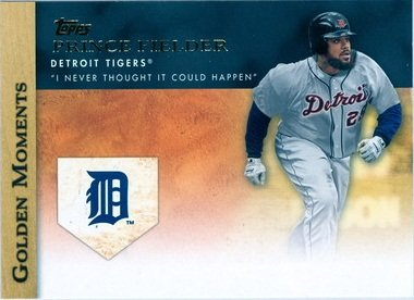 2012 Topps Golden Moments #GM47 Prince Fielder