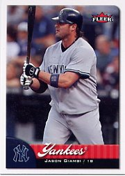 2007 Fleer 121 Jason Giambi