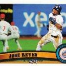 2011 Topps #380 Jose Reyes