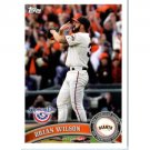 2011 Topps Opening Day #101 Brian Wilson