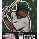 2012 Panini Triple Play #58 Jemile Weeks