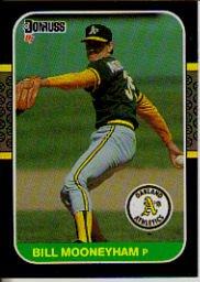 1987 Donruss #302 Bill Mooneyham
