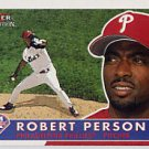 2001 Fleer Tradition #19 Robert Person